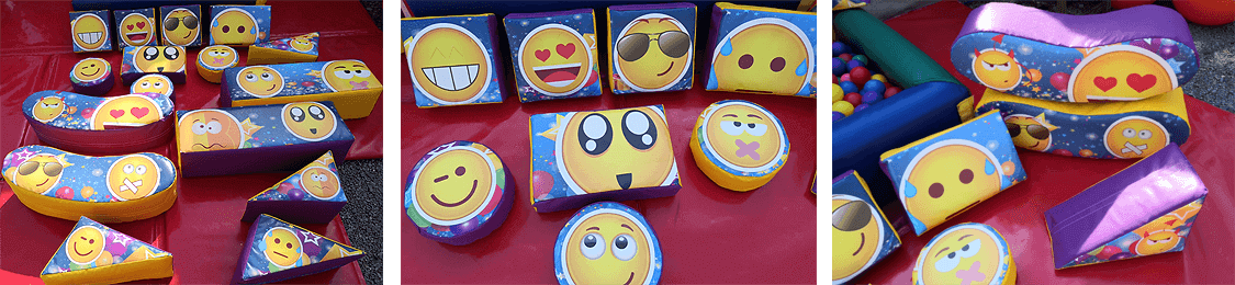 emoji softplay set