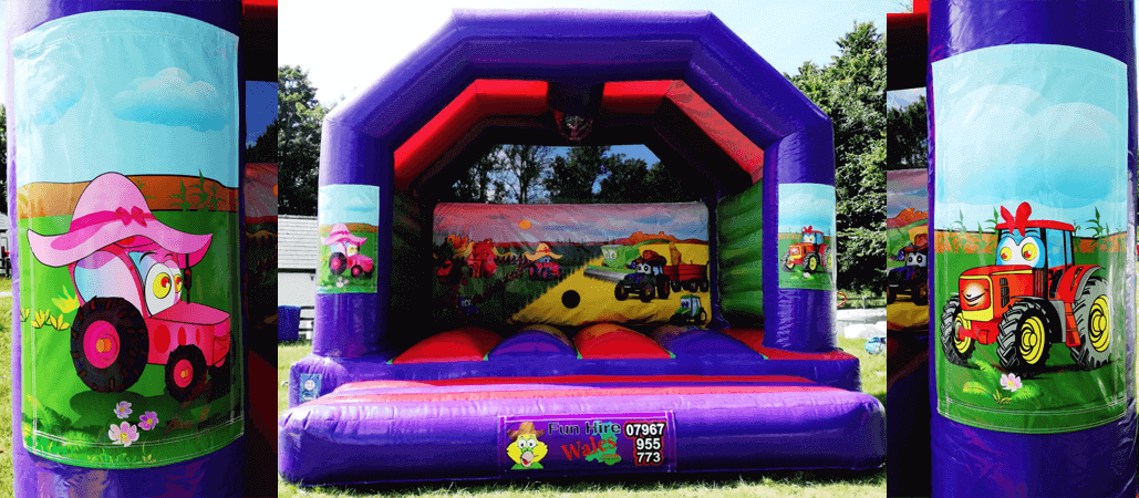 farm style bouncy castle