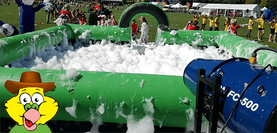 Foam Party Hire kids