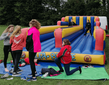 Bungee run hire for Fundraising