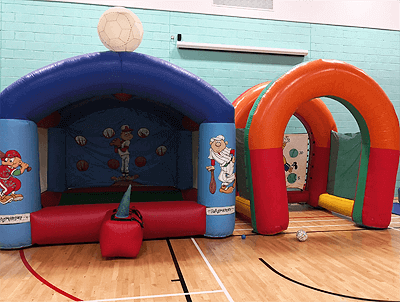 inflatable game hire llanelli