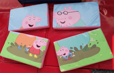 Pepper pig soft play puzzle set
