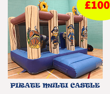 pirate theme castle