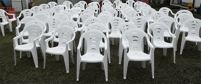 event seat hire