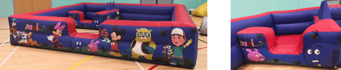 softplay surround hire