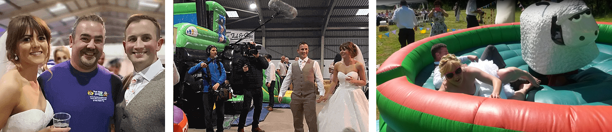 wedding fun hire carmarthen